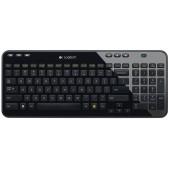 Logitech K360 Wireless USB Keyboard, Desktop Keyboard (Glossy Black)